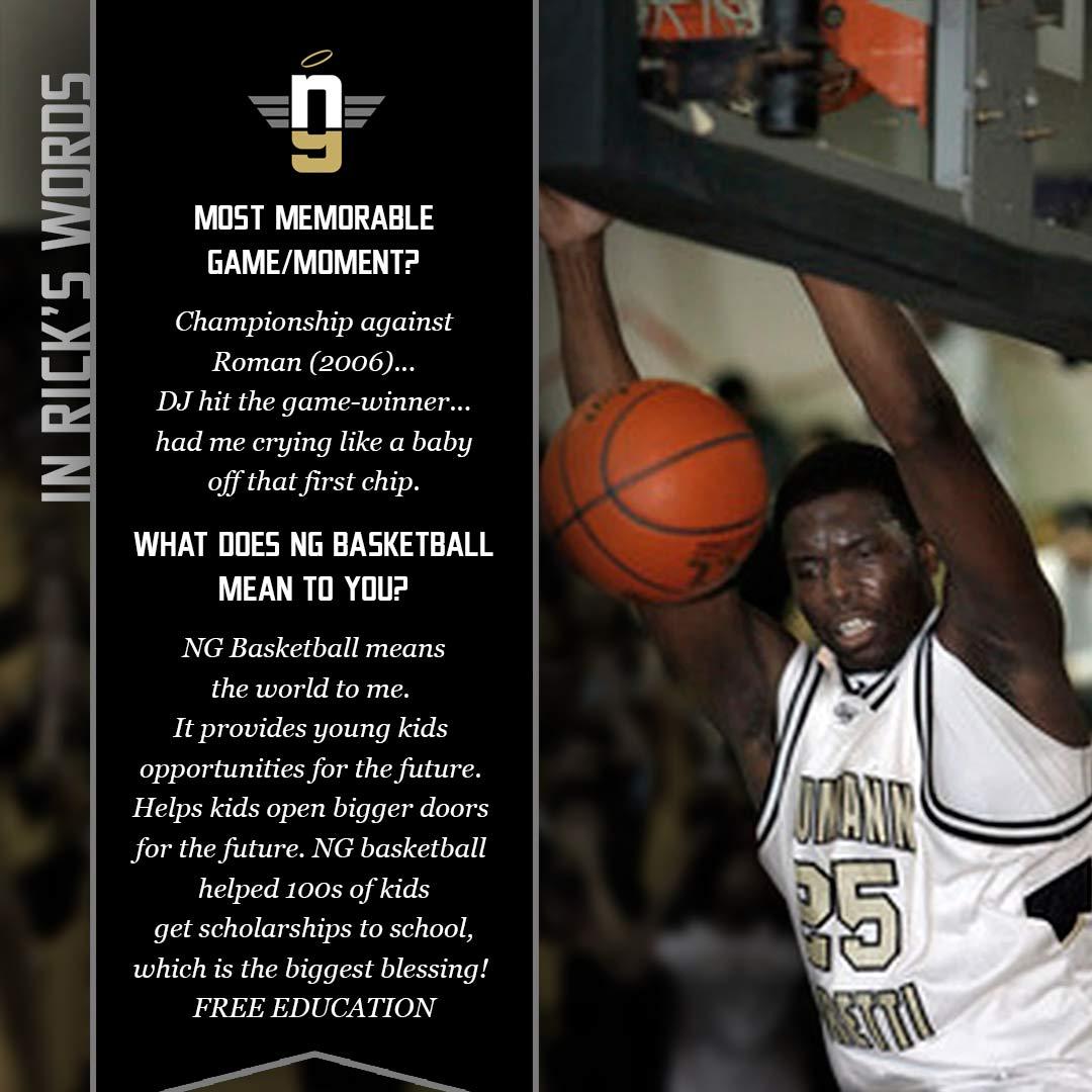 Rick Jackson on NG Basketball