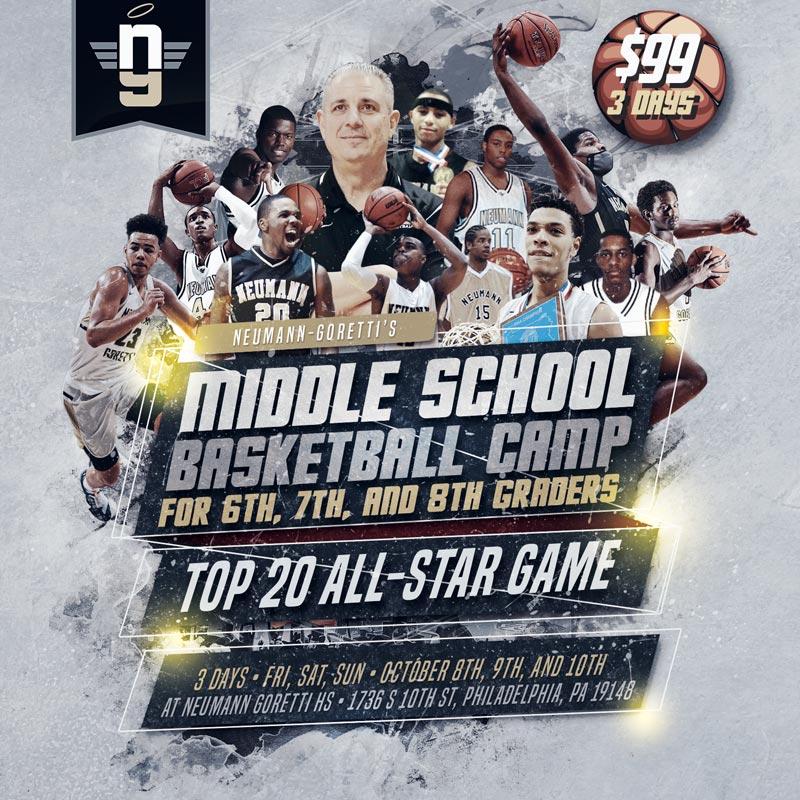 Neumann Goretti Basketball Camp 2021